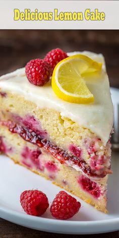Deliciously Dry and Tasty Lemon Cake