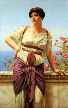 The Athenaeum - Matrona Superba (John William Godward - )