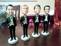 Give Tim, John & Bob-ble the perfect wedding gift, with an array of fun ideas for your groomsmen, at Wedspire.com!