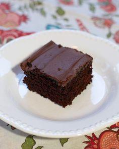 {NEW} Wacky Cake - no eggs, no milk, no butter? It's delicious!