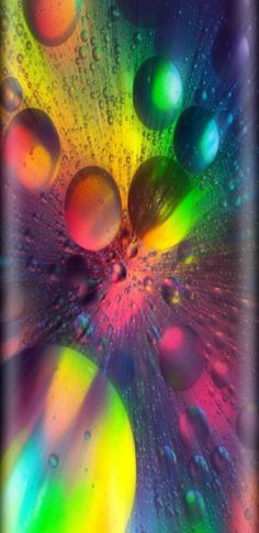 Galaxy S8 Wallpaper, Rainbow Wallpaper, Heart Wallpaper, Lava Lamp, Circles, Bubbles, Backgrounds, Wallpapers, Colorful