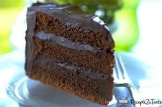 Melt-in-the-mouth chocolate, crunchy almonds, lush double cream and dark rum: welcome to cake heaven! Chocolate Rum Cake, Homemade Chocolate, Melting Chocolate, Chocolate Recipes, Homemade Food, Rum Cake From Scratch, Cake Recipes Uk, Yummy Treats, Sweet Treats