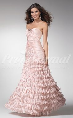 Gorgeous Pearl Pink Long Prom Dresses