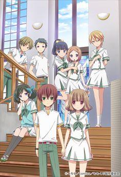 Imagen promocional del Anime para televisión de Momokuri.