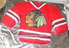 Cool+Chicago+Blackhawks+Cake