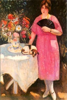 Charles Camoin | Fauvist painter | Tutt'Art@ | Pittura * Scultura * Poesia * Musica | Paintings I Love, Henri Matisse, French Artists, Lovers Art, Pet Birds, Art Pictures, Illustration Art, Pets, Friends