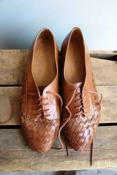 vintage oxfords. love.