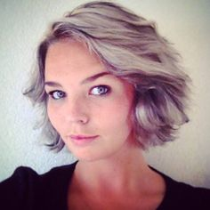 Gorgeous cut and color on our  lovely client Claudia.