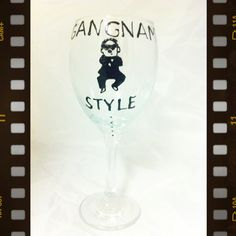 Gangnam style from the Facebook page mlt handpainted wineglasses, (memories like these) love a Friday :) this is a crazy dance and I love it :) x
