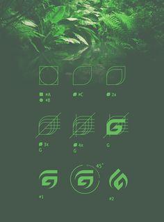 Personal logo GallerART on Behance