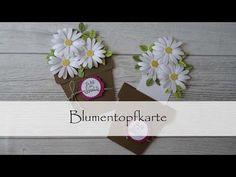 Blumentopfkarte - YouTube