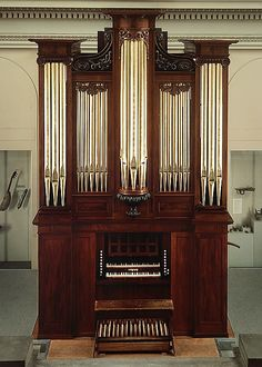 Pipe Organ - Thomas Appleton (1785–1872) Date: 1830, Boston, Massachusetts, Wood, various materials, Dimensions: H. 490.2 cm (16 ft. 1 in.)