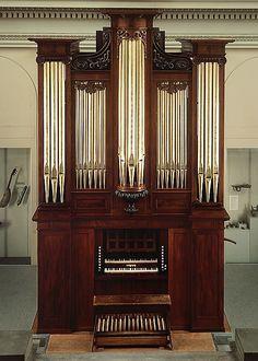 Pipe Organ - Thomas Appleton (1785–1872) Date: 1830, Boston, Massachusetts, Wood, various materials, Dimensions: H. 490.2 cm (16 ft. 1 in.)
