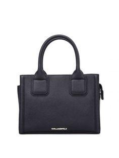 KARL LAGERFELD Karl Lagerfeld K/klassik Mini Bowling Bag. #karllagerfeld #bags #shoulder bags #hand bags #leather #lining #