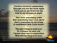 Tools for finding hope along the journey: Staying connected - A Poem | The Grief Toolbox