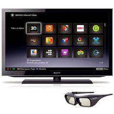 """SmartTV 3D LED 40"""" Sony, por R$ 2.499,00"""