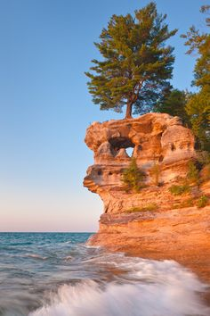 Pictured Rocks Michigan