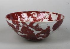 Johan Broekema bowl with lustre glaze