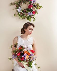 Flowers: Love Notes  Gorgeous florals & paper goods work together to establish your big-day style | Photographs by Brandon Witzel