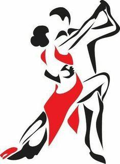 Illustration of rumba logo vector art, clipart and stock vectors. Dancing Drawings, Art Drawings, Free Cliparts, Ballroom Dancing, Latin Dance, Irish Dance, Fun To Be One, Line Art, Vector Art