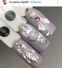 Pin by Sandrina Vandoninck on Nails in 2019 Crazy Nail Designs, Christmas Nail Art Designs, Winter Nail Designs, Xmas Nails, Holiday Nails, Christmas Nails, Nagel Stamping, Stamping Nail Art, Gorgeous Nails