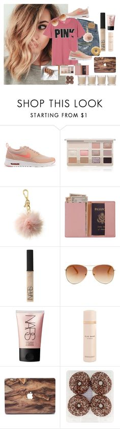 """113. crrrazy"" by lifeissweet170000 ❤ liked on Polyvore featuring Abercrombie & Fitch, NIKE, Too Faced Cosmetics, Michael Kors, Royce Leather, GET LOST, NARS Cosmetics, Tommy Hilfiger, Elie Saab and Shabby Chic"