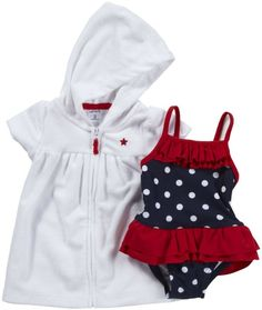 Carter's Baby Girls 2-Piece Swimsuit Set