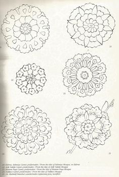 Islamic Art Pattern, Mandala Pattern, Mandala Art, Persian Pattern, Persian Motifs, Hand Embroidery Patterns, Textile Patterns, Pattern Drawing, Pattern Art