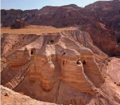 Qumran, Israel (1988) - where the Dead Sea Scrolls were found...