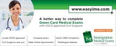easyIME - A better way to complete Green card medical exam.