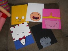 Awesome Adventure Time Swap Gallery - ORGANIZED CRAFT SWAPS by gotgrey