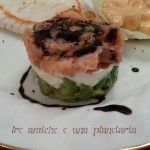 Tris di antipasti di mare Avocado, Beef, Food, Meat, Lawyer, Essen, Meals, Yemek, Eten