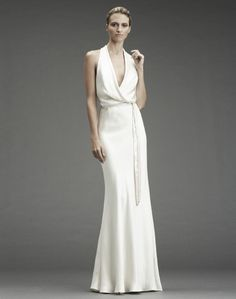 Wedding Dresses from Nicole Miller- Hot Off the NY Fashion Week Runway!   OneWed