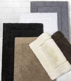 Plush Pile Bath Rug Bathroom Decoration Ideas Pinterest Bath - Taupe bath rug for bathroom decorating ideas