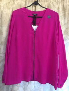 M&S PER UNA SPEZIALE Washable 100%PURE SILK UK18 BNWT Ladies Shirt Blouse