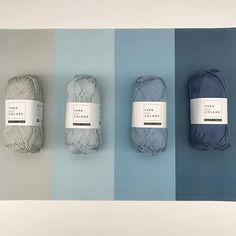With 100 colors you can mix and match all day! Today we wanted to share our pick for the #Denimlook 💙. What color combination would you like to see next? #yarnandcolors #musthave #denim #yarn #colors #playwithcolors #colorcombinations #whatisnext