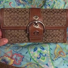 Authentic Used Coach Wallet Great Condition. Used Coach Wallet Coach Bags Wallets