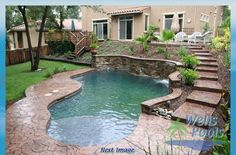 Spool Pools for Small Yards - we have a great backyard, but I'd like to have it be multipurpose, so a smaller pool would be great.