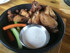 Salt and Pepper Chicken Wings from Route 66 in Itaewon, Seoul, South Korea.
