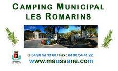 Maussane Les Alpilles - Maison du Tourisme - Bouche du Rhône - Provence - camping near Camargue