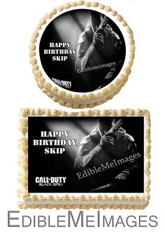 CALL of DUTY Black Ops 2 II Birthday Party by CustomEdibleMeImages, $8.50