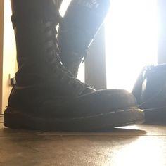 Let the boots do the talking #punk #docs #dms #docmartens