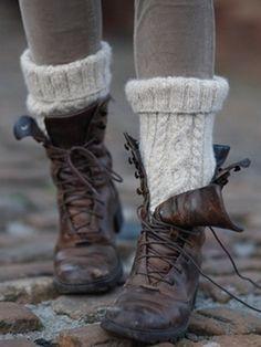 Vintage combat boots..