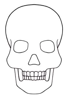 picture regarding Skull Template Printable named 17 Excellent Skull Template pictures inside 2015 Coloring Web pages