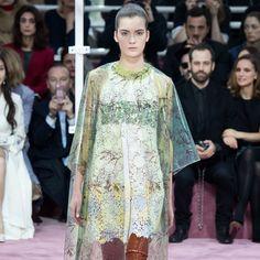 Haute Couture : Dior sous l'influence de David Bowie Look 8 Dior  © Style.com
