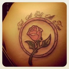 """If I ever get get another tattoo, it will be this rose with the words """"Til The Last Petal Falls"""""""