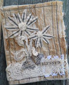 """Blessed"" Fabric Journal - Carol Wingert"