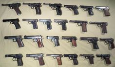 German Pistols of WWII (OC, Wall of text, lots of pictures)