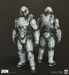 ArtStation - Doom MP Sets - Highpoly, Efgeni Bischoff