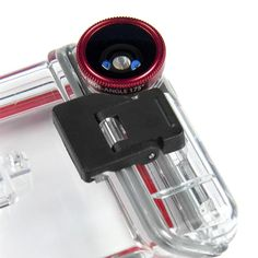 Optrix XD5 – Waterproof Action Camera iPhone Case. Great technology design. Read more at jebiga.com